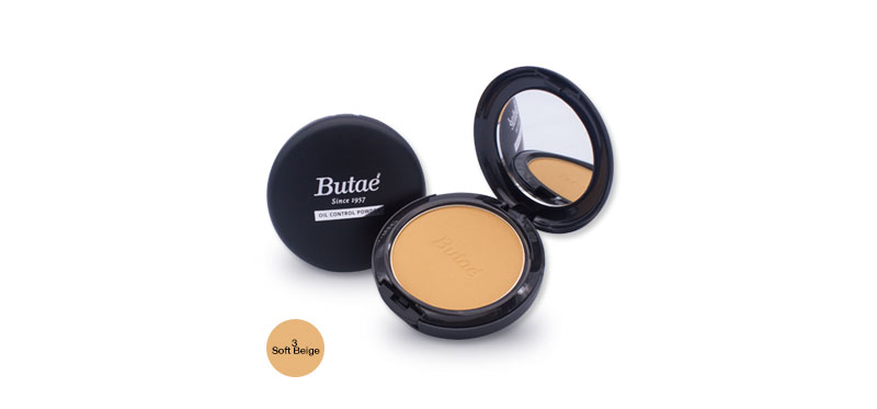 Butae Oil Control Powder 17g #3 Soft Beige