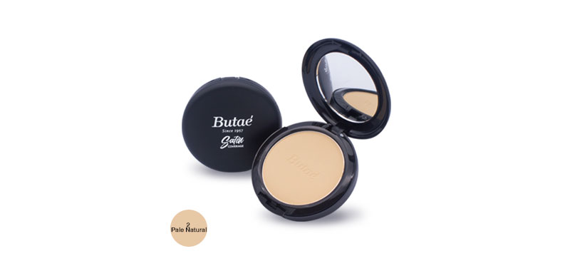 Butae Satin Coverage Powder 13g #2 Pale Natural