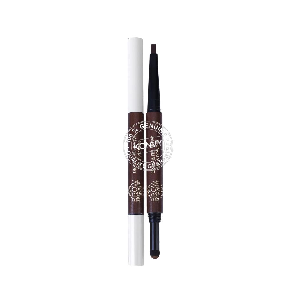4U2 Brow Specialist Draw & Fill Brow Gel & Powder 0.6g #02 Chocolate