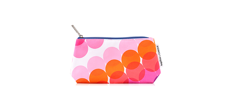 Clinique X Kapitza Polka Dot Colorful Bag