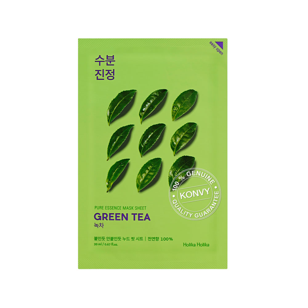 Holika Holika Pure Essence Mask Sheet 20ml #Green Tea