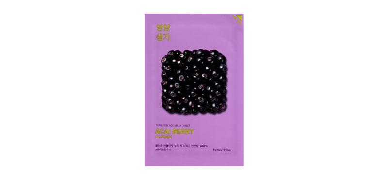 Holika Holika Pure Essence Mask Sheet 20ml #Acai Berry