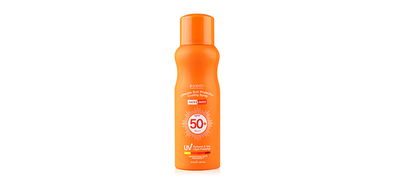 Beauty Buffet Scentio Ultimate Sun Protection Cooling Spray Face & Body SPF50+/PA+++ 50ml ( Expiration Date : 2020.07 )