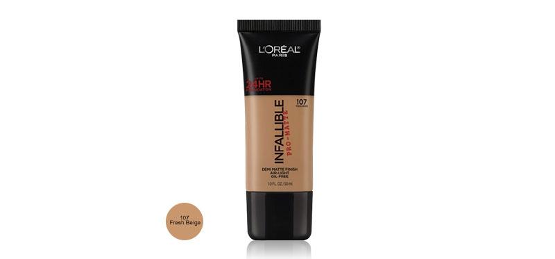 L'Oréal Paris Infallible Pro-Matte Foundation 30ml #107 Fresh Beige