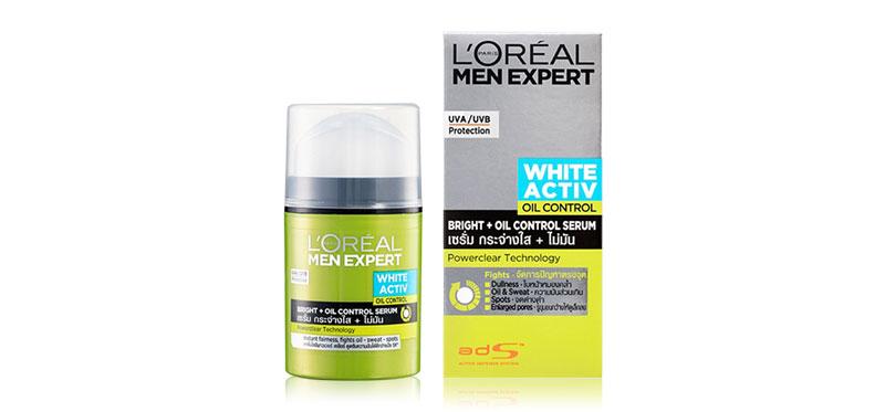 L'Oréal Paris Men Expert White Active Oil Control Bright + Oil Control Serum Moisturizer 50ml
