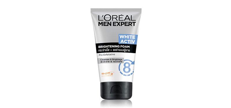 L'Oréal Paris Men Expert White Active Brightening Foam 100ml