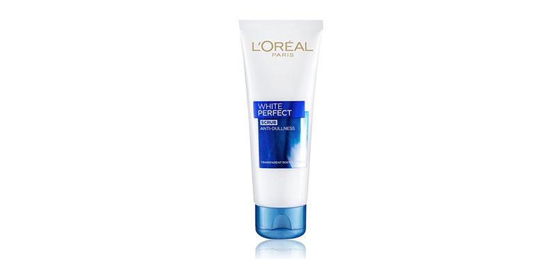 L'Oréal Paris White Perfect Anti-Dullness Scrub Foam 100ml