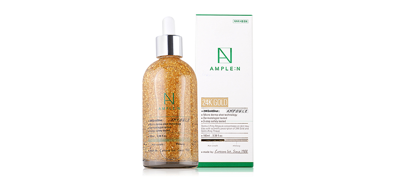 Coreana Lab Ample N 24K Gold Shot Ampoule 100ml