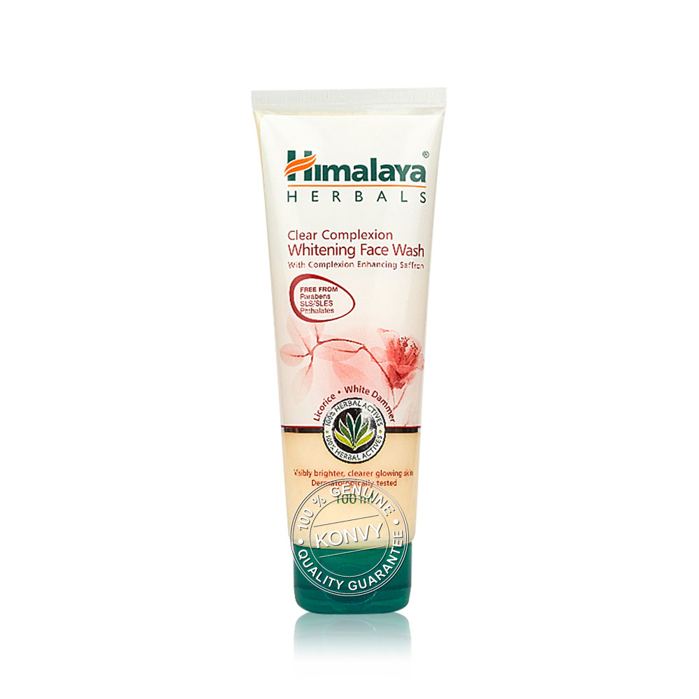 Himalaya Clear Complex Whiten Face Wash 100ml