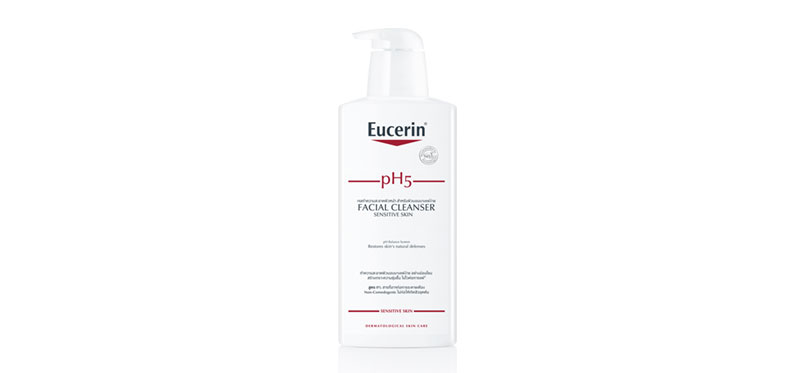 Eucerin pH5 Sensitive Skin Facial Cleanser 400ml