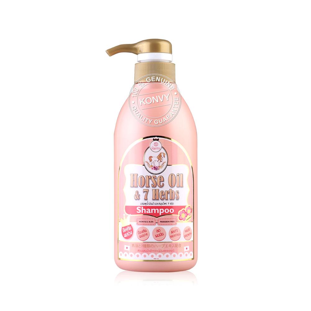 REMI Horse Oil & 7 Herbs Shampoo 400ml