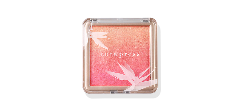 Cute Press Nonstop Beauty Ombre Blush 10g #02 Peach Passion