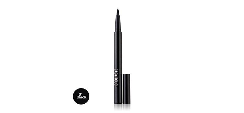 TONYMOLY Easy Touch Brush Eyeliner 1.1ml #01 Black ( สินค้าหมดอายุ : 2021.12 )