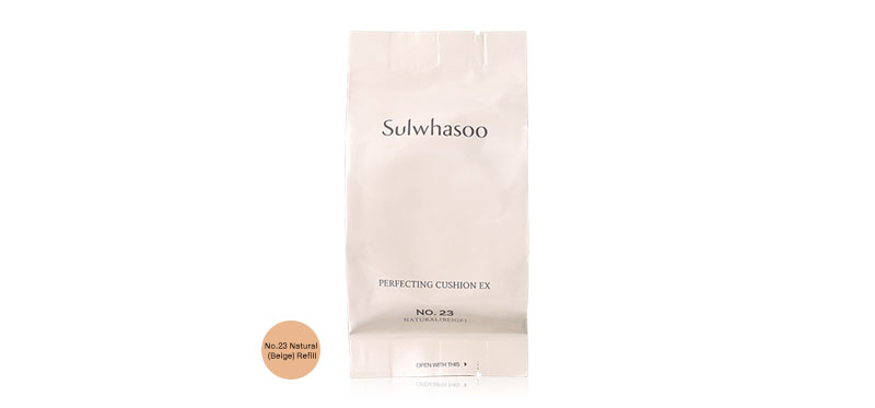 Sulwhasoo Perfecting Cushion EX SPF50+/PA+++ 15g #No.23 Natural (Beige) Refill