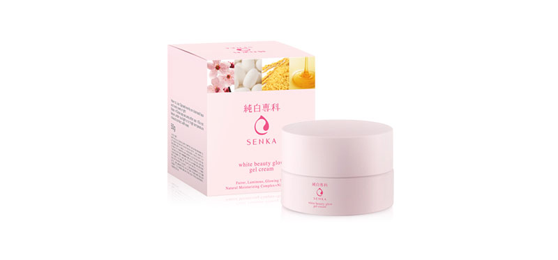 Senka White Beauty Glow Gel Cream 50g