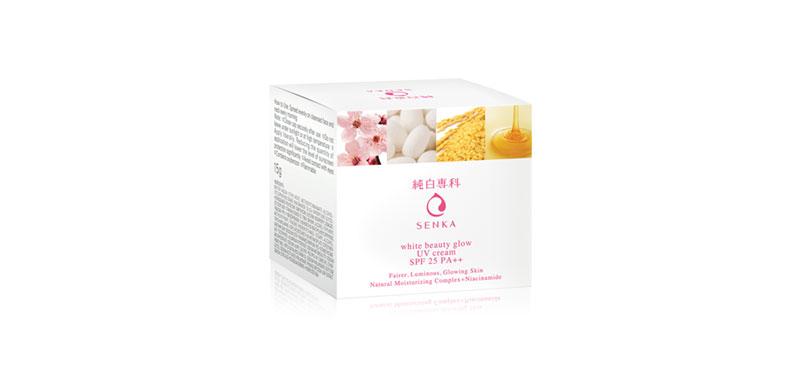 Senka White Beauty Glow UV Cream 15g