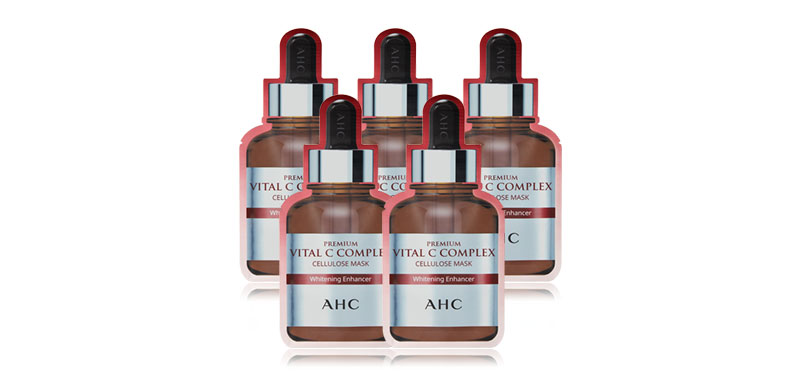 AHC Premium Vital C Complex Cellulose Mask (25ml x 5pcs)