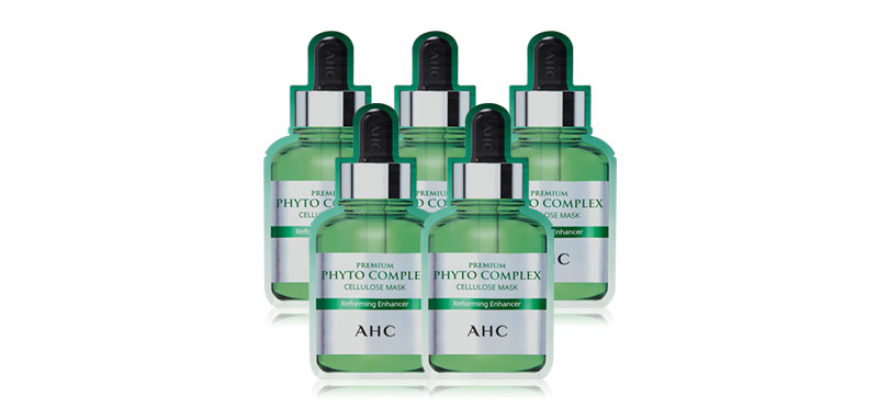 AHC Premium Phyto Complex Cellulose Mask (27ml x 5pcs)