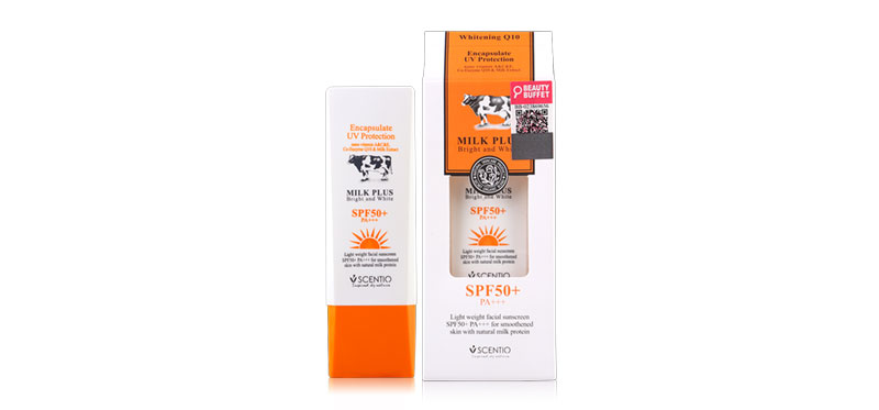 Beauty Buffet Scentio Milk Plus Encapsulate Sunscreen UV Protection SPF50+PA++ 30ml
