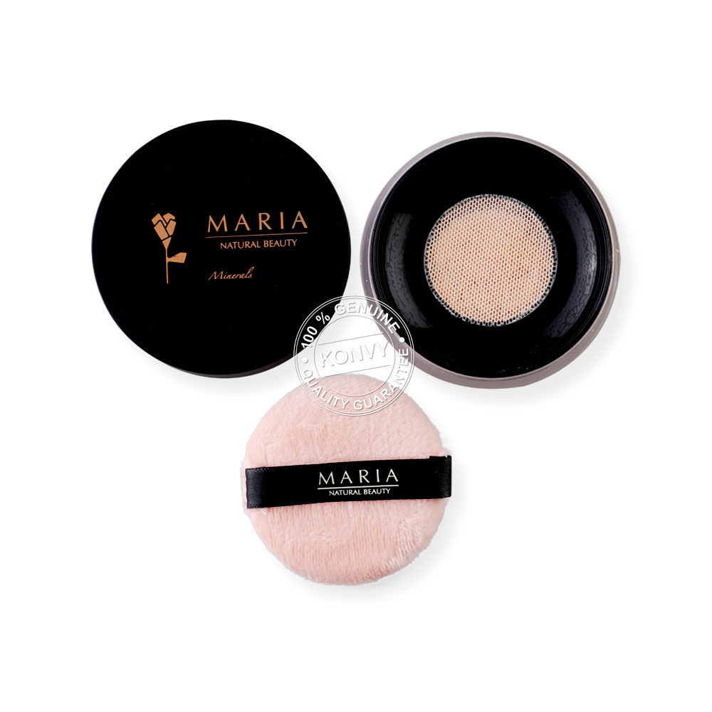 MarianaturalBeauty Maria Mineral Powder SPF22/PA+++ 5g #T01 Light ( สินค้าหมดอายุ : 2020.09 )