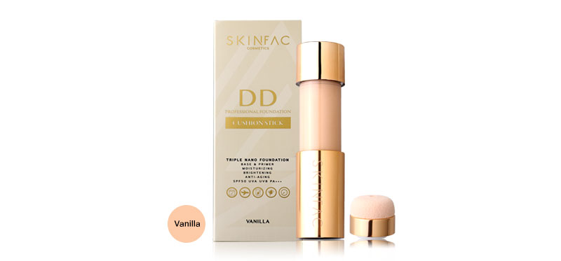 Skinfac Cream Professional Foundation 20ml #Vanilla ( สินค้าหมดอายุ : 2020.11 )