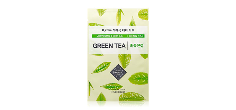 Etude House Therapy Airmask Greentea 20ml
