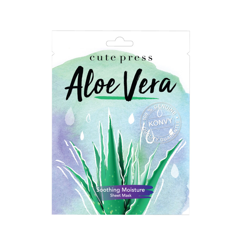 Cute Press Aloe Vera Soothing Moisture Mask 24g