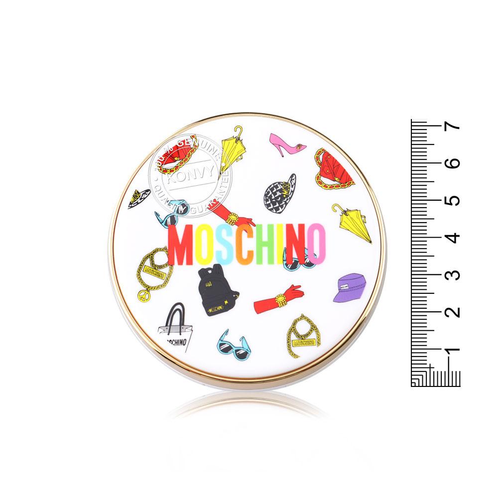 Tonymoly Moschino Chic Skin Essence Pact 18g #01 Chic Vanilla