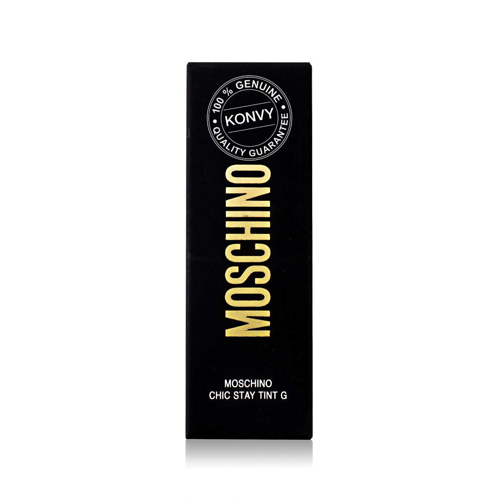 Tonymoly Moschino Chic Stay 4g #M01 Dragon Red