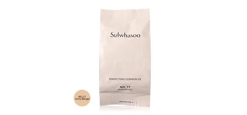 Sulwhasoo Perfecting Cushion EX SPF50+++ 15g #17 Ivory (Beige) Refill