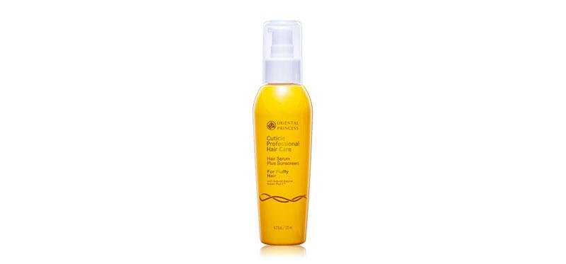 Oriental Princess Cuticle Professional Hair Care Hair Serum Plus Sunscreen For Fluffy Hair 125ml