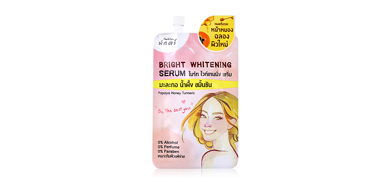 Paktr Bright Whitening Serum Papaya&Honey 7g