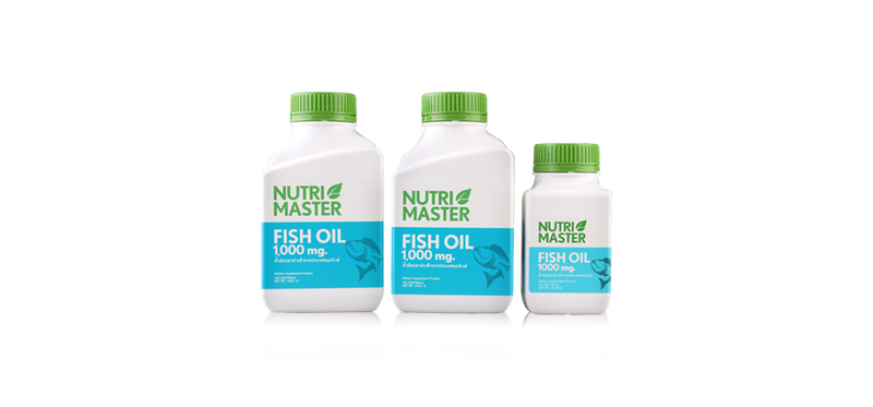 Nutrimaster Fish Oil Set 3 Items (230capsules)