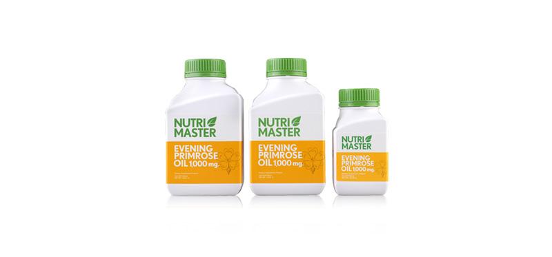 Nutrimaster Everning Primrose Oil Set 3 Items (230capsules)
