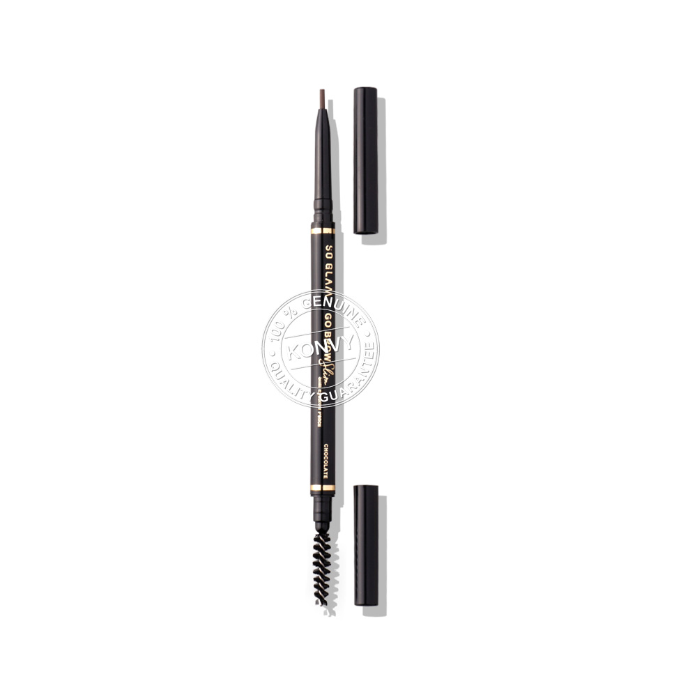 So Glam Go Brow Slim Slim Eyebrow Pencil 0.5g #02 Chocolate