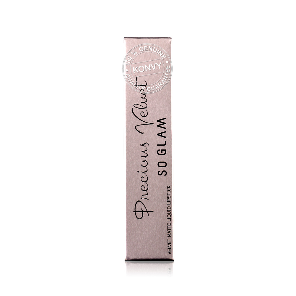 So Glam Precious Velvet Matte Liquid Lipstick 2.5g #07 Cheery
