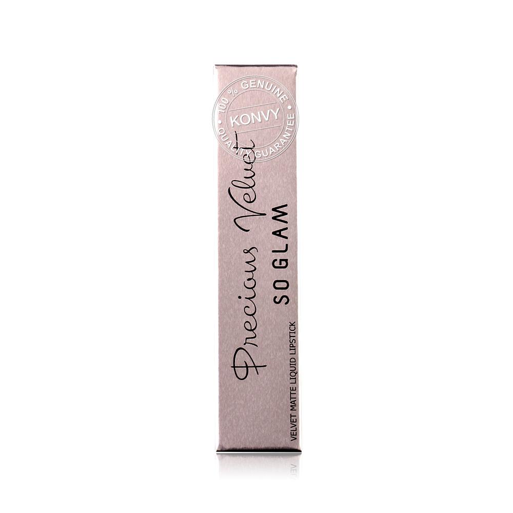 SoGlam Precious Velvet Glow Collection Color Lip Gloss 2.5g #101 Rosy