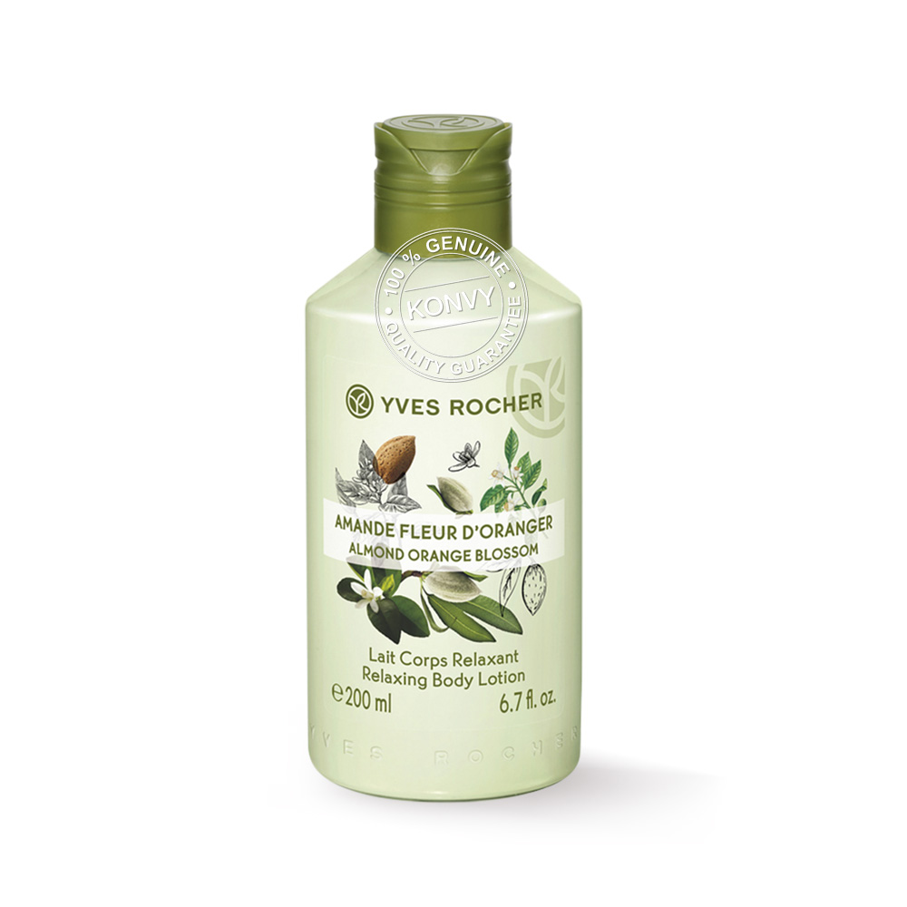 Yves Rocher Relaxing Body Lotion Almond Orange Blossom 200ml