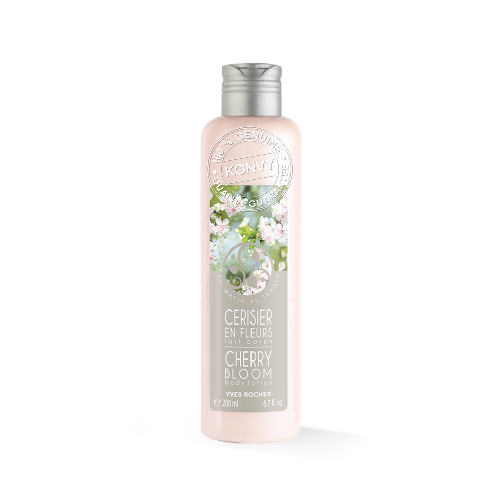 Yves Rocher  Morning In The Garden Cherry Body Lotion 200ml