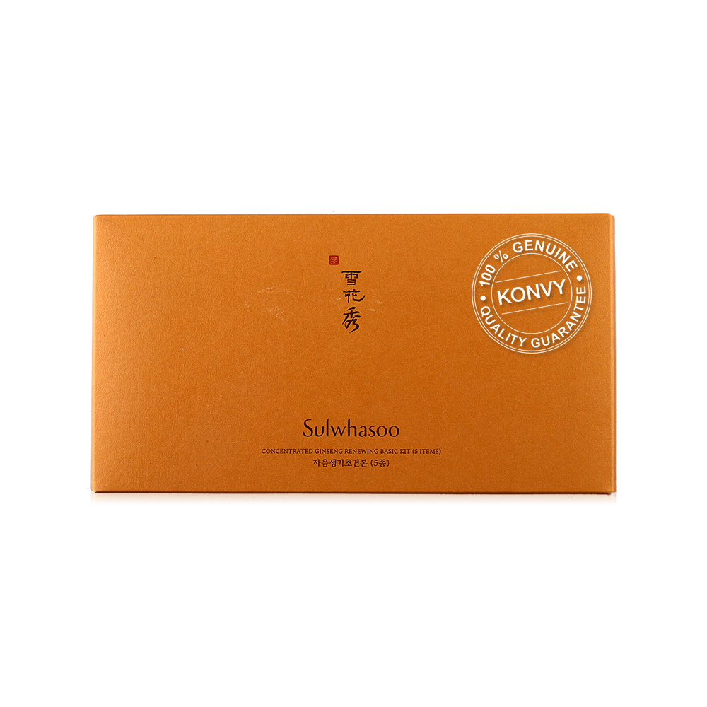 Sulwhasoo Concentrated Ginseng Renewing Basic Kit 5 Items