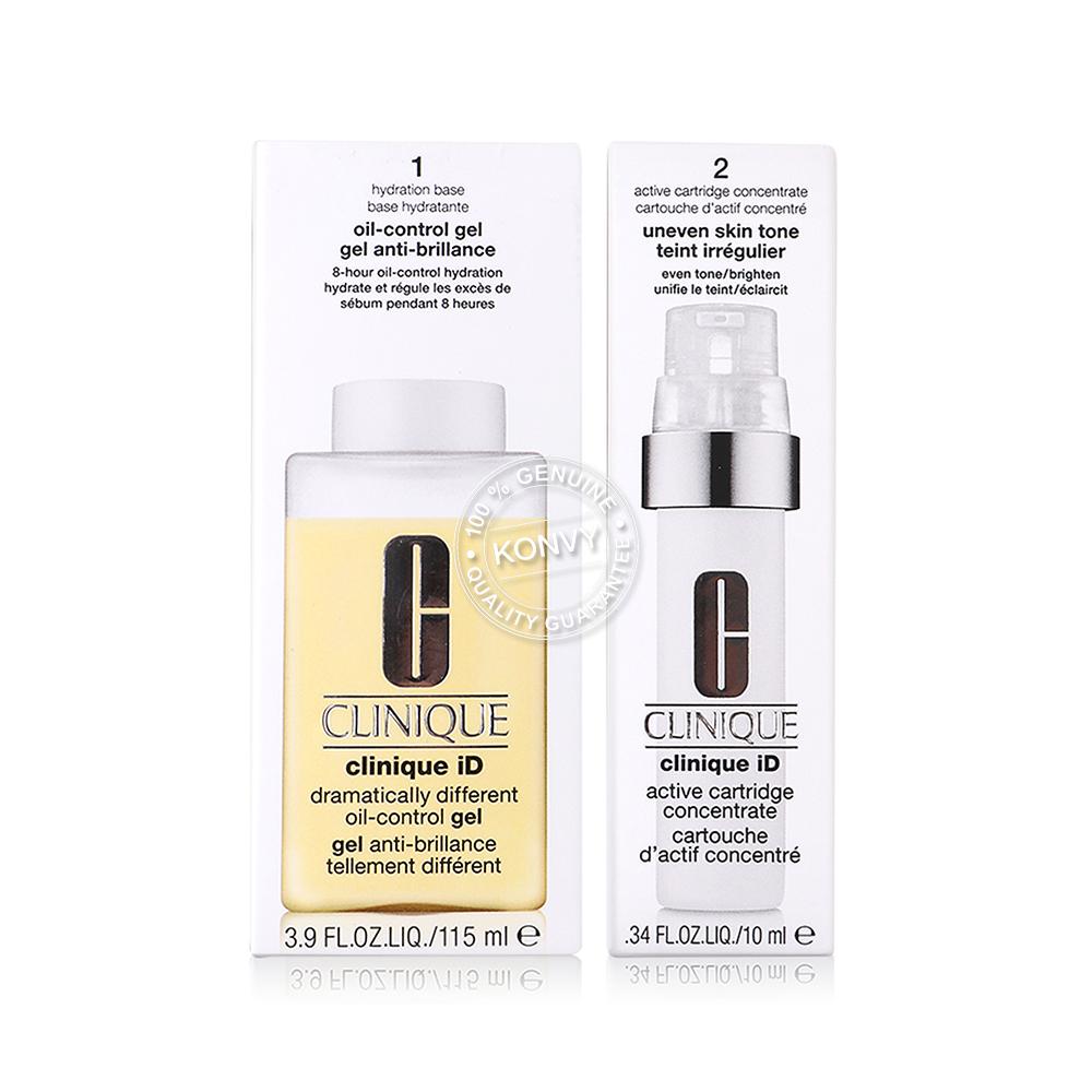 Clinique iD Dramatically Different Oil-Control Gel #Uneven Skin Tone