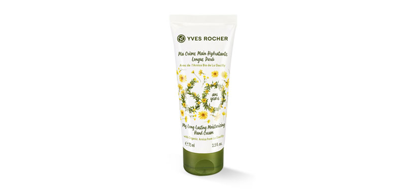 Yves Rocher Bhandcare Hydration Long Lasting Hand Cream 75ml (60Anniversary Limited Edition)