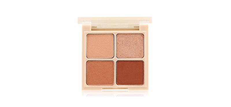Holika Holika Nudrop Eyeshadow Palette 6g #06 Peanut Nude
