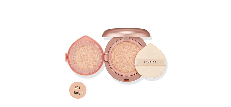 Laneige Layering Cover Cushion Concealing Base SPF34/PA++ 16.5g #21 Beige