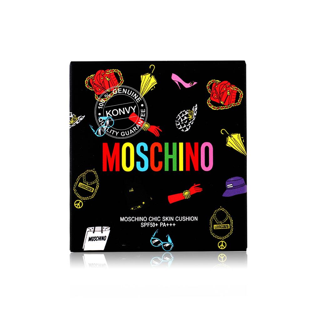 Tonymoly Moschino Blackedition Cushion 15g #02 Chic Beige