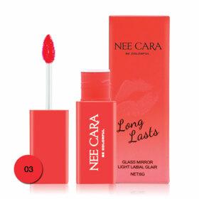 ฟรี! NEE CARA Long Lasts Lip 6g #03 (1 ชิ้น / 1 ออเดอร์)  เมื่อช้อปสินค้า NEE CARA ครบ 199  บาท (ของแถมจำนวนจำกัด)