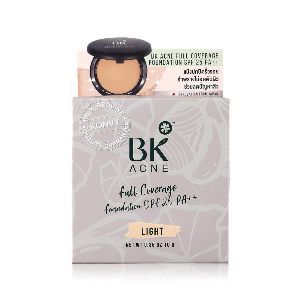 BK Acne Full Coverage Foundation SFP25/PA++ 10g #Light
