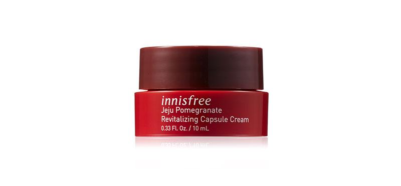 [Free Gift] Innisfree Jeju Pomegranate Revitalizing Capsule Cream 10ml