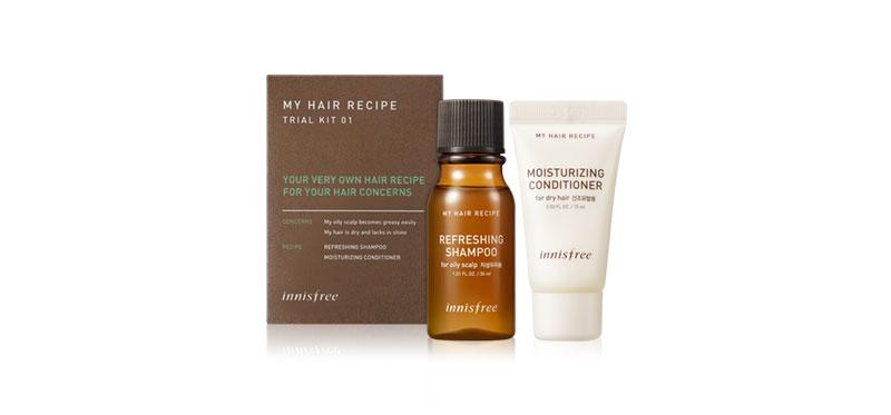 [Free Gift] Innisfree My Hair Recipe Kit