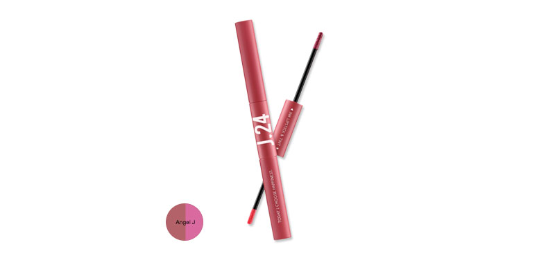 J24 Ink Lipstick & Tint (2.5g+2.5ml) #Angel J